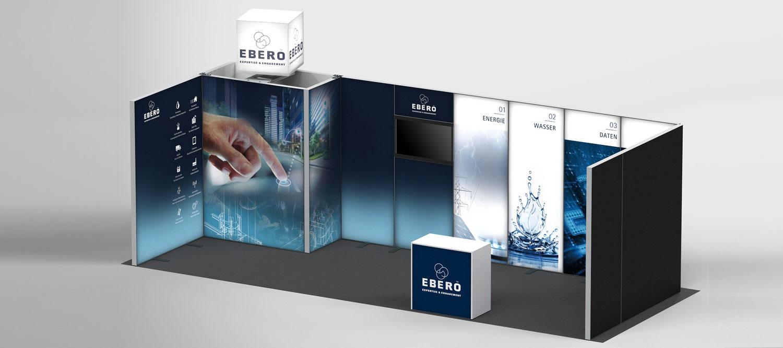 EBERO LED Messestand